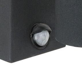 Arne-LED mur 2 (avec détecteur de mouvement) - noir