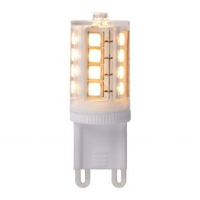 LED lamp à intensité variable - 4,5 x 1,6 cm - G9 - 3,5W - 2700K - blanc