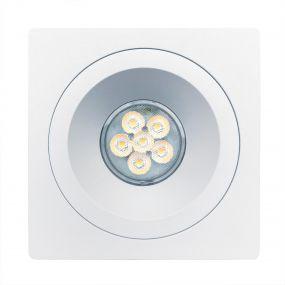 Nova Luce Raena-Cid - spot encastrable - 100 x 100 mm, Ø 75 mm taille d'encastrement - blanc