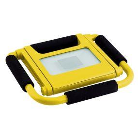 Elmark Work - lampe de travail rechargeable - 10W LED incl. - IP44 - jaune
