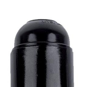 Elmark bakélite - suspension douille - 5,5 cm - noir